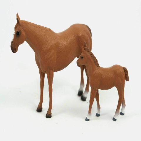 Quarter Horse Mare And Foal - 406
