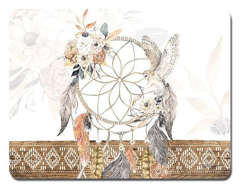 Barn Owl Dreamcatcher Placemats - KTW-0114