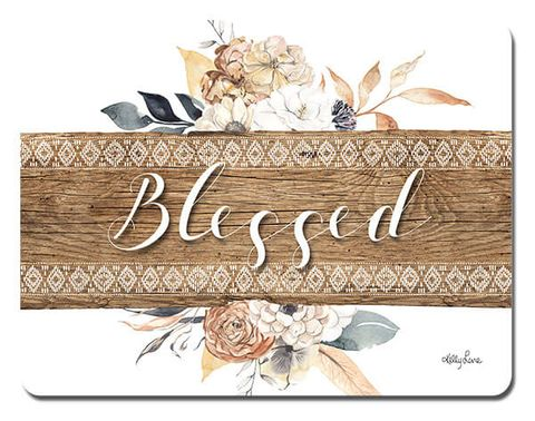 Barn Owl Blessed Placemats - KTW-0111