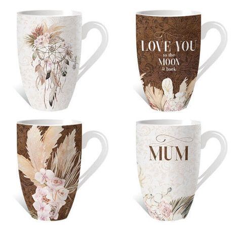 Bismark Assorted Mug - KZH-0157
