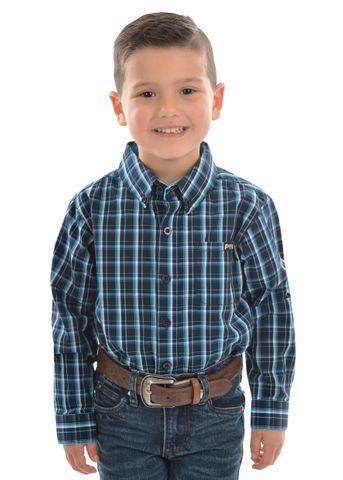 Boy's Alfonso Check L/S Shirt - P0W3101291