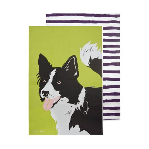 Border Collie Tea Towel Set - T6S2921096159