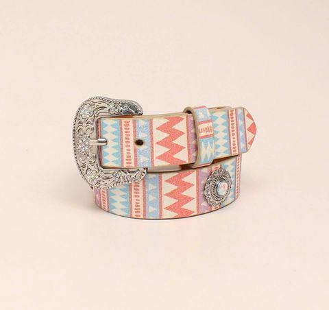 Multi Glitter Belt - D130000497