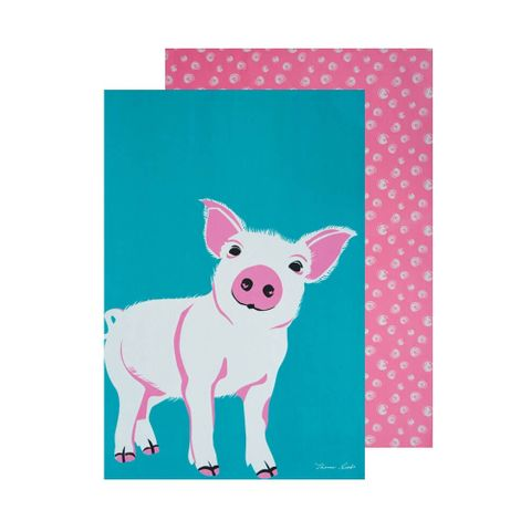Piglet Tea Towel Set - T7W2921096409