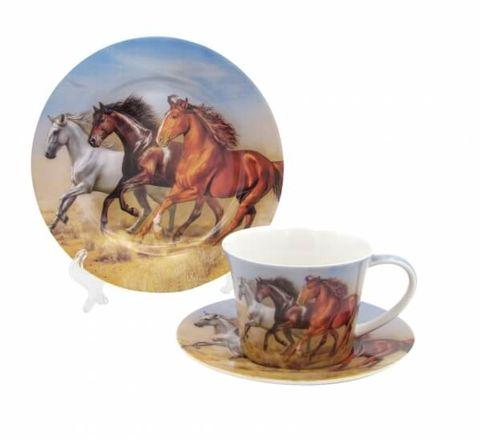 Horse & Cup & Saucer Set - CW1122A