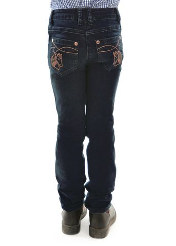 Girl's Angel Slim Leg Jean - T0W5215068