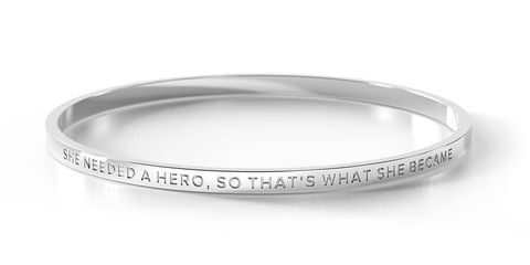 She Needed A Hero Bangle - SHE NEEDED A HERO SI