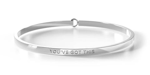 You've Got This Sil Bangle - YOU'VE GOT THIS SIL