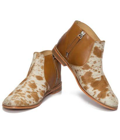 Jersey Hairon Flat Boot - SHOE54T