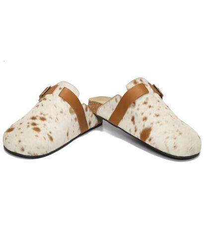 Jersey Hairon Monk Slippers - SHOE56T