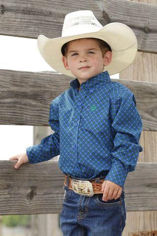 Geometric Toddler L/S Shirt - MTW7061230