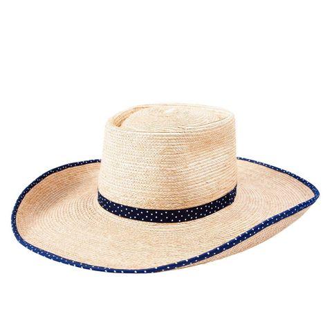 Ava Standard Palm Leaf Hat - HG45AVOP