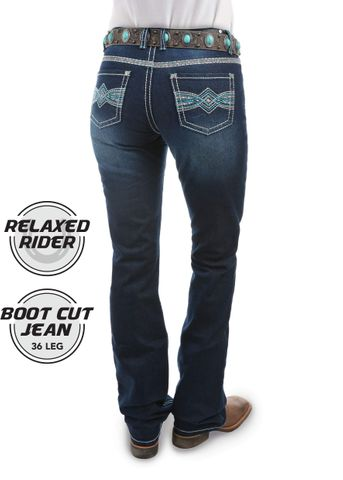 Women's Indiana Relaxed Rider Jean - PCP2210155