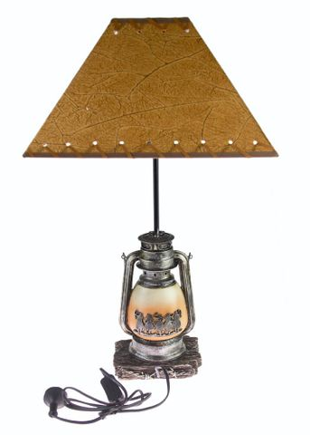 Western Table Lamp - 7088