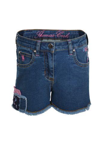 Patchwork Denim Shorts - T0S5300072