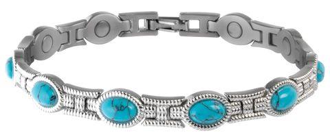 Turquoise Magnetic Bracelet - 220