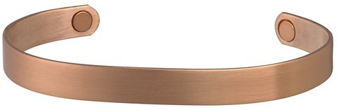 Brushed Copper Magnetic Bracelet - 504