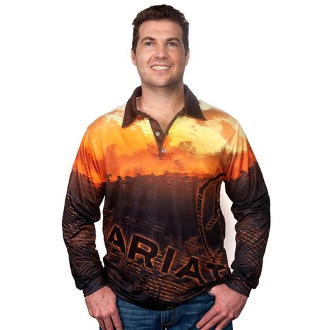 Men's Western Fishing Shirt - 1002CLSP