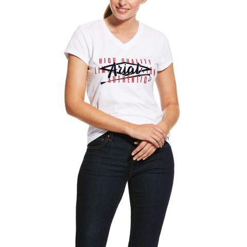 Women's Crop Logo Tee Shirt - 10030356
