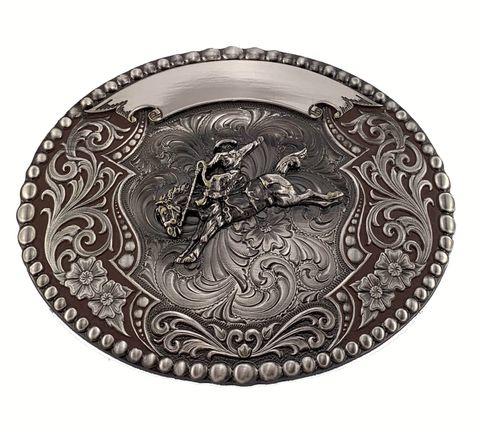 Saddle Bronc Buckle - 25912MA-717