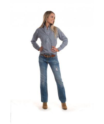 Women's Seascape Blair Gingham Shirt - W03D-3004