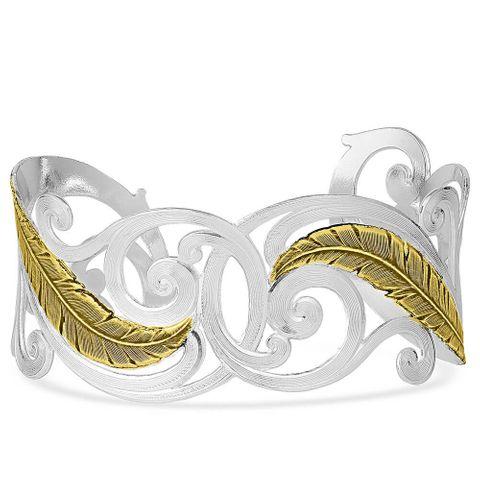 Sunfire Filigree Cuff Bracelet - BC4815