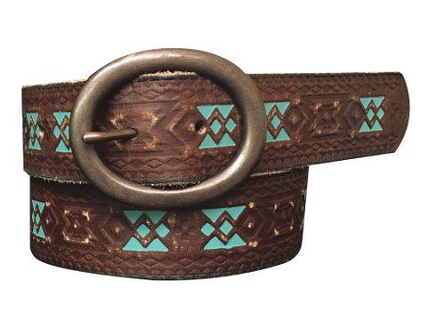 Women's Painted Belt - 8817790