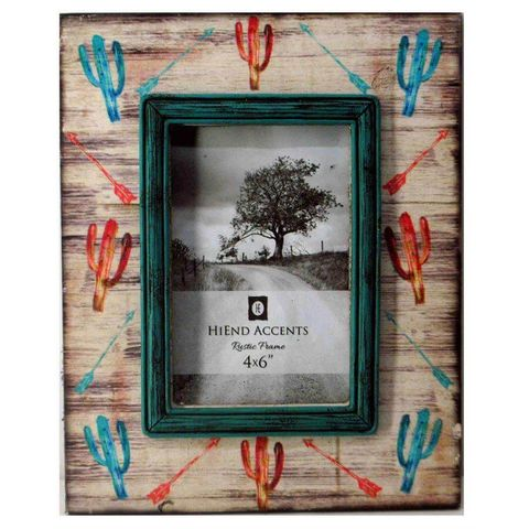 Cactis & Arrow Picture Frame - WD1706