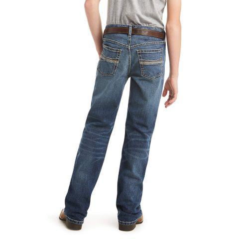 Boy's B4 Patterson Boot Cut Jean - 10034636