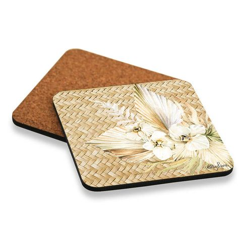 Palomino Rattan Coasters - KTW-0224
