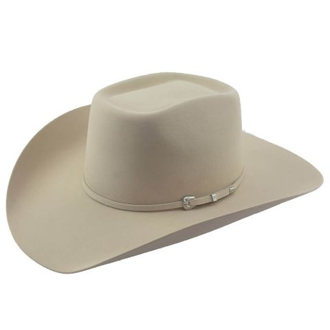 4X Red Rock Fur Felt Cowboy Hat - 4X FT BUCKSKIN