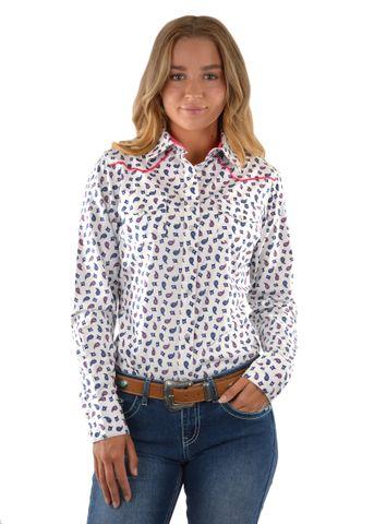 Women's Harper Print L/S Shirt - P1S2127481