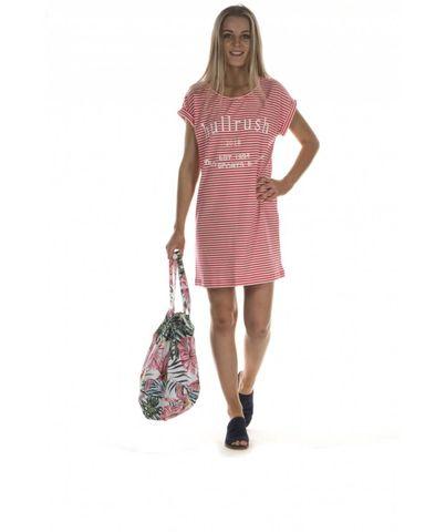 Women's Cuff Tee Dress - BTS13DRHP