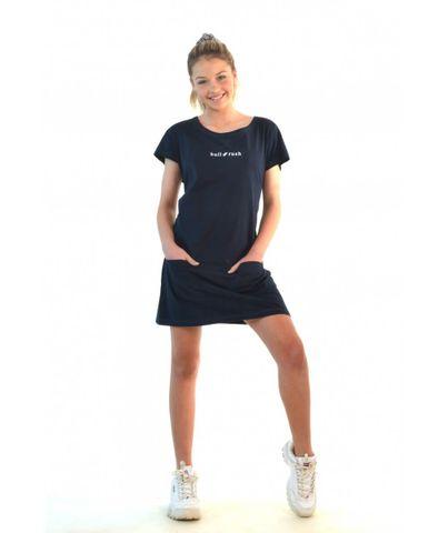 Women's Casual Tee Dress - BTS13DR-BAW