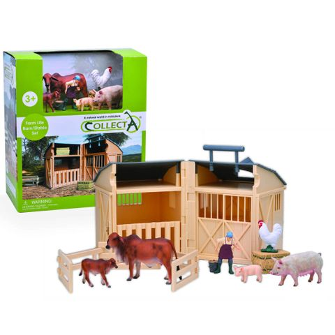 Barn Stable with Farm Accessories - CO84150