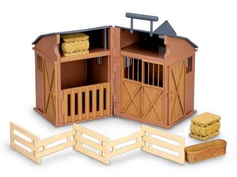 Barn Stable with Folding Accessories - CO89333