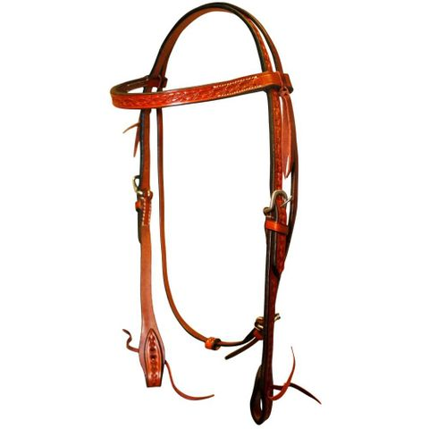 Barbed Wire Headstall - FOR20-0026 CH