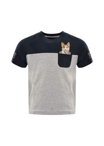 Boy's Pocket Dog S/S Tee - T1S3516082