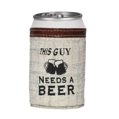 This Guy Needs A Beer Can Holder - S-1179
