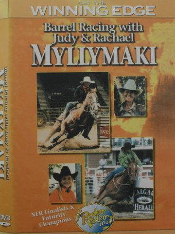 Barrel Racing With Rachel & Judy Myllmak - MYLLYMAKI