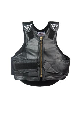 Rough Rider Leather Vest - 1014