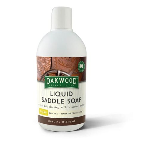 Oakwood Liquid Saddle Soap - OP109