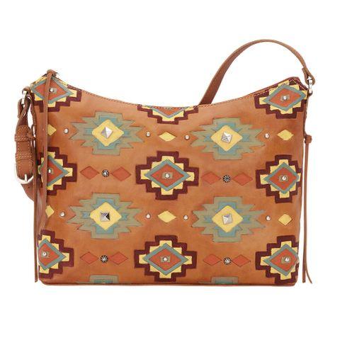 Adobe Allure Zip-Top Shoulder Bag - 6915281