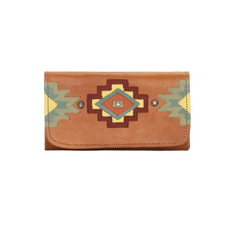 Adobe Allure Ladies' Tri-Fold Wallet - 6915282