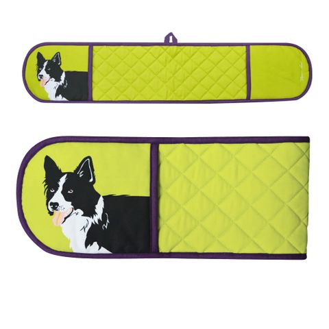 Border Collie Double Oven Glove - TCP2913096 159