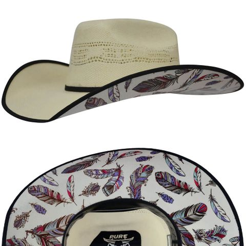 Virginia Straw Hat - P8S2976HATQ11