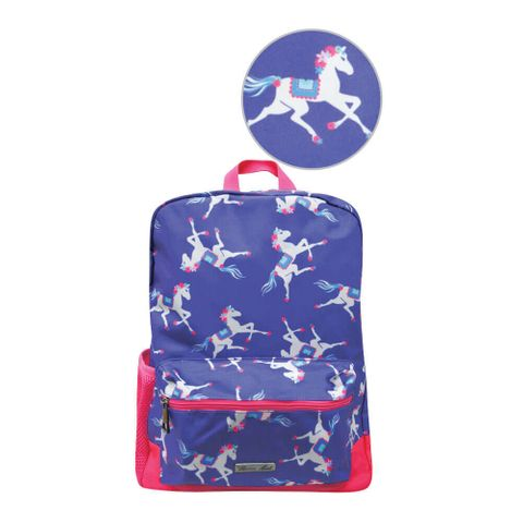 Horse Print Backpack - T8S7900BPK