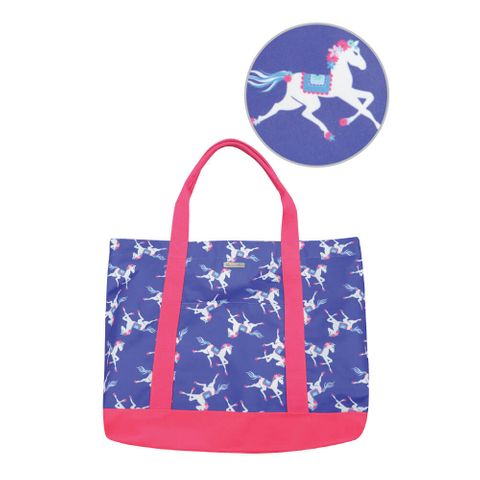 Horse Print Tote Bag - T8S2908EDT