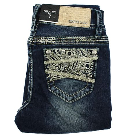 Girl's Feather Jean - GB71079