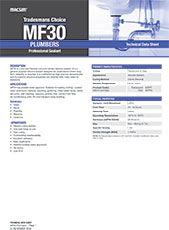 MF30 Plumbers TDS Image